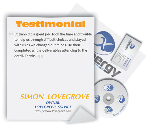 Logo Design Feedback Simon Lovegrove
